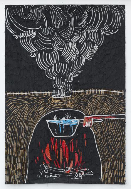 , 'Fireplace,' 2017, Fridman Gallery