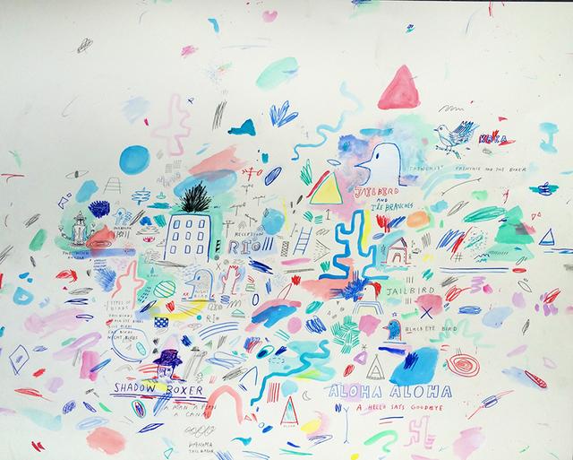 , 'Rio,' 2015, Bryce Wolkowitz Gallery