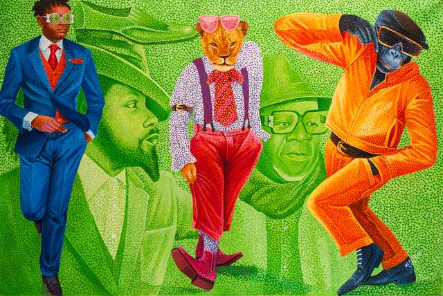 , 'Papa Wemba,' 2016, Africa Bomoko