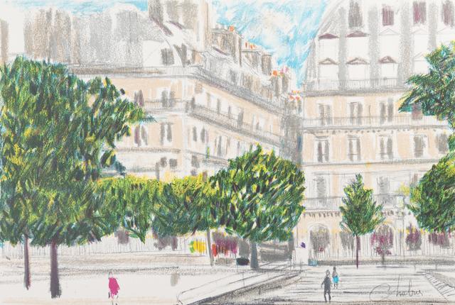 Nathalie Chabrier, 'Ohé Paris', 1982, Art Lithographies