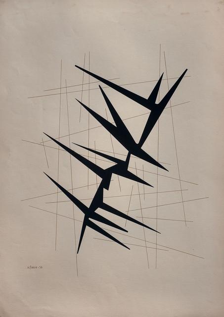 , 'Composición dinámica,' 1956, Galería de las Misiones