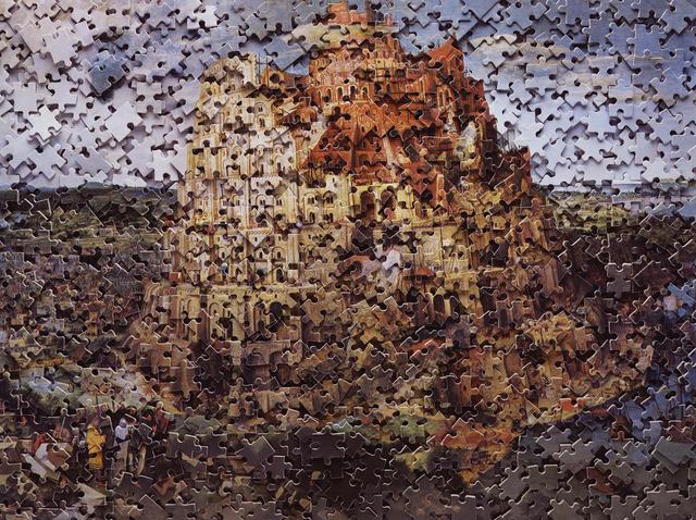 Vik Muniz, 'Gordian Puzzles: Babel Tower, after Pieter Bruegel', 2007, Galeria Nara Roesler