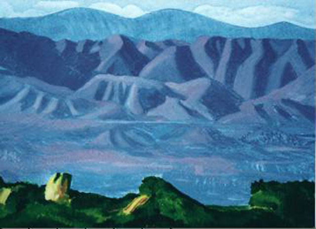 David Hockney, 'The Valley', 1990, Joseph K. Levene Fine Art, Ltd.