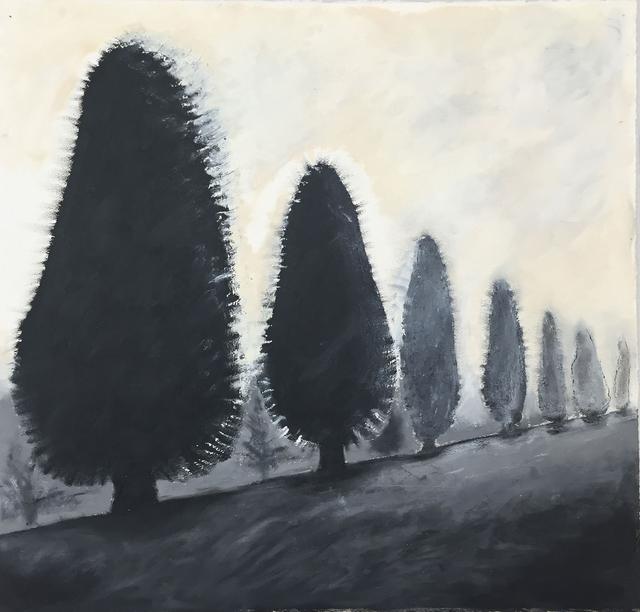 , 'Seven trees on Ridge After Michael King,' 2013, Kala Art Institute