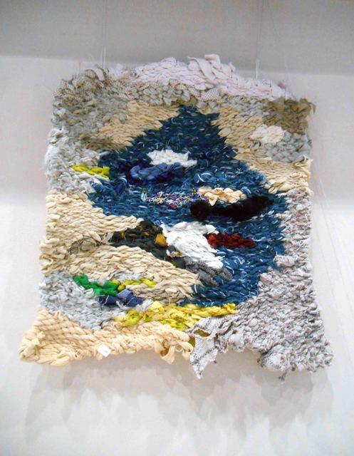 """, 'Tapestry """"Small White-Blu Sky"""",' ca. 2017, 25KADR GALLERY"""
