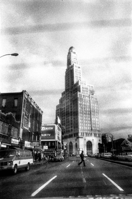 Ken Schles, 'Downtown Brooklyn', 1983, Howard Greenberg Gallery