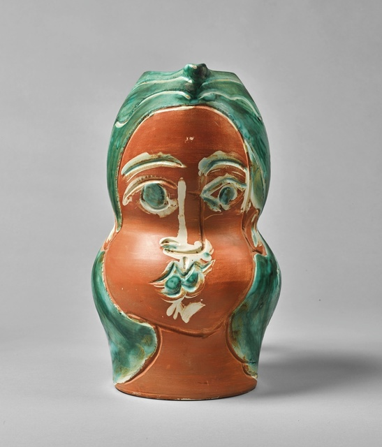 Pablo Picasso, 'Visage de femme (A.R. 192)', 1953, Other, Terre de faïence pitcher, painted in colors and partially glazed, Sotheby's