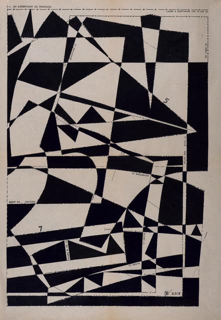 , 'Geometrical Forest No9,' 2018, Emmanuelle G Gallery