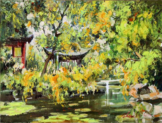 , 'Suzhou Garden,' 2013, NanHai Art