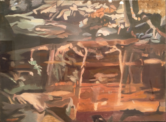 , 'Red Reflection,' 1992, Walter Wickiser Gallery