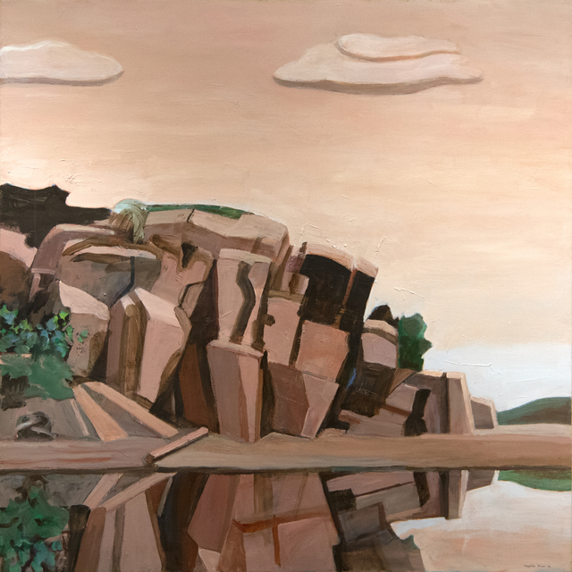 William Theophilus Brown, 'Landscape with Rocks', 1985-2005, Heather James Fine Art