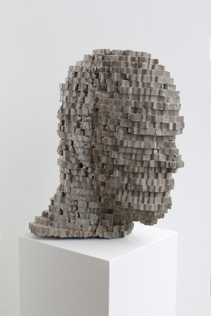 , 'Head Study No. 18, People of the 21st Century,' 2011-2012, Julie M. Gallery