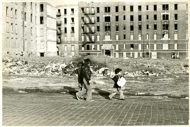 , 'No Sidewalks Here,' 1979, El Museo del Barrio