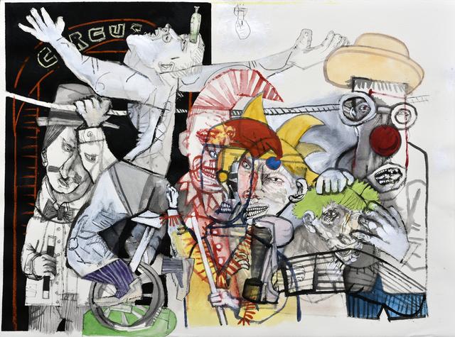 , 'Una familia funcional II,' 2018, Galerie Claire Corcia