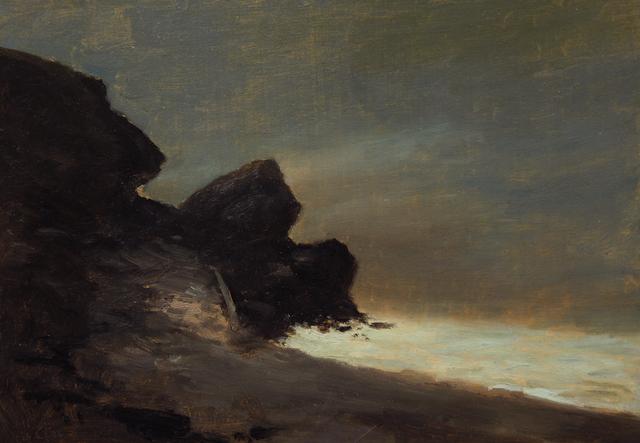 , 'Moonlight Behind Castle Rock,' 6, Sullivan Goss