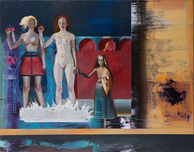 , 'The Unknown (Wer ohne Schuld ist),' 2019, Josef Filipp Galerie