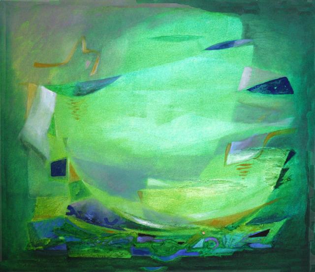 Angelika Kandler Seegy, 'chweben im Grün', Parcus Gallery