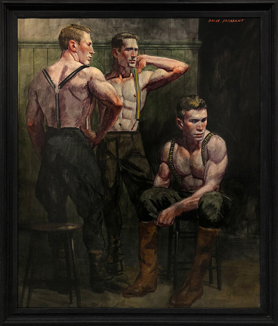 Mark Beard, '[Bruce Sargeant (1898-1938)] Dressing for a Morning Hunt', n.d., ClampArt