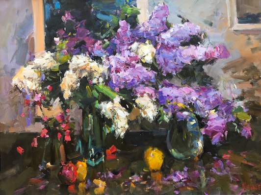 Alexander Shabadei, 'Fruits and Lilacs', 2018, Gallery 901