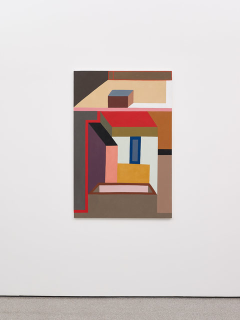 Nathalie Du Pasquier, 'Like a fly on the map of the world', 2018, Galerie Greta Meert