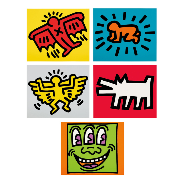 Keith Haring, 'Icons', 1990, Oliver Clatworthy