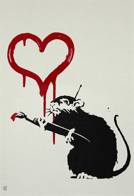, 'Love Rat,' 2004, Gormleys Fine Art