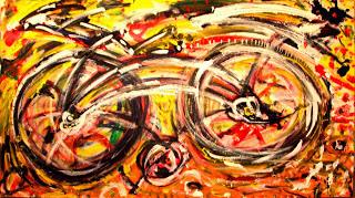 , 'Black Bike,' , Inn Gallery