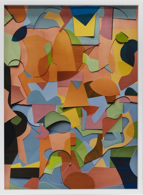 , 'Shapes and Levels 2,' 2017, galerie nichido / nca   nichido contemporary art
