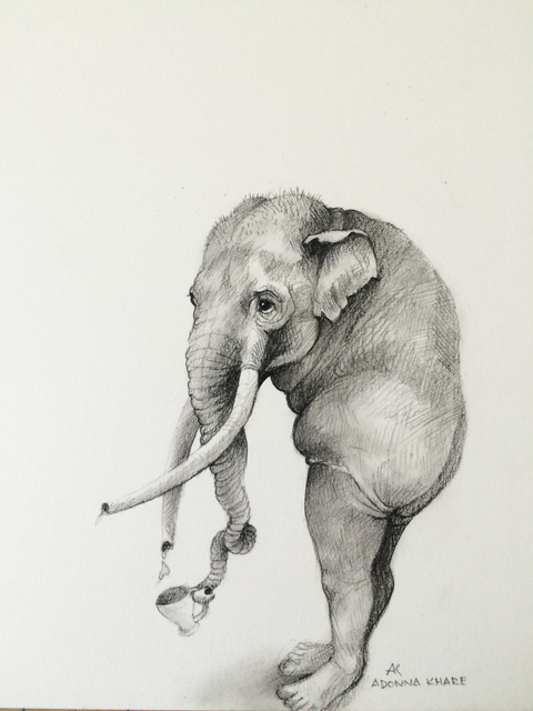 , 'Elephant with Cup ,' , Visions West Contemporary