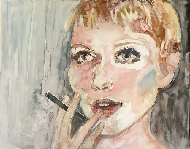", '""I'm going to take the high road because the low road is so crowded."" -- Mia Farrow,' 2017, Ro2 Art"