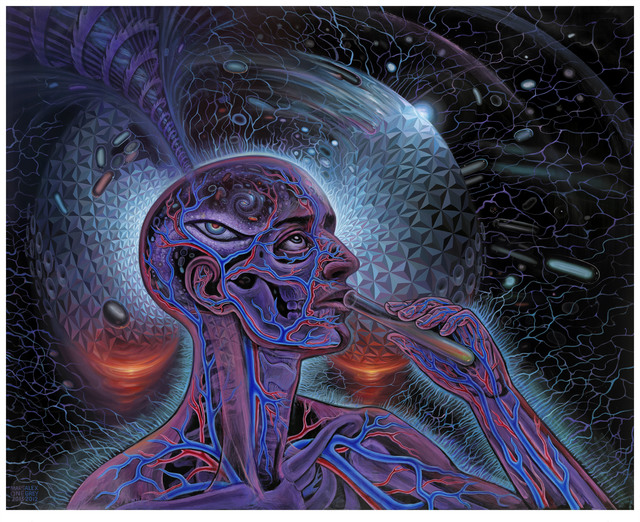 Alex Grey, 'Bicycle Day', 2012-2013, The Chambers Project