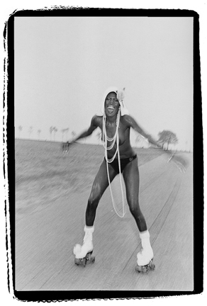, 'Grace Jones at Compo Beach,' 1974, Staley-Wise Gallery