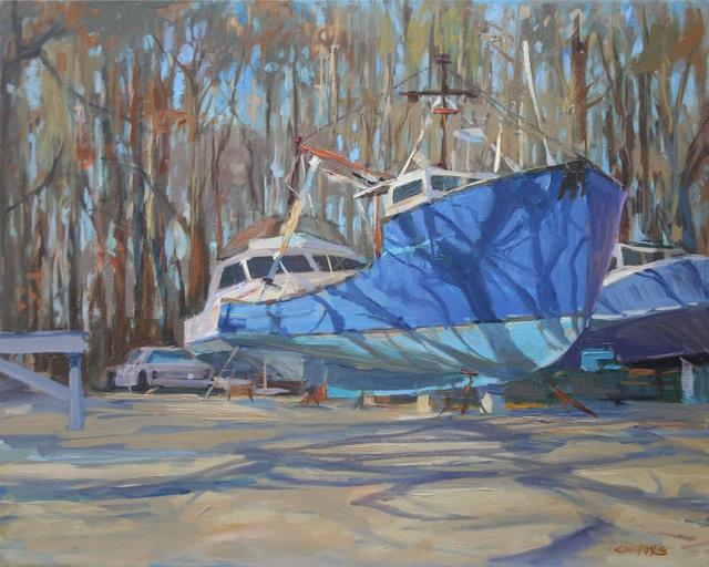 , 'Off Shore Sports Marina, Montauk NY,' 2016, Grenning Gallery
