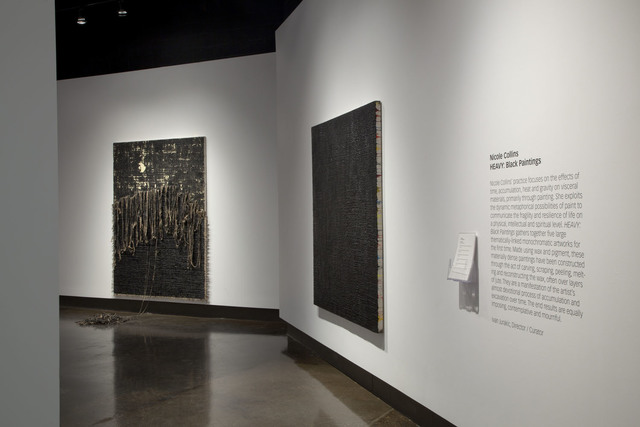 , 'Heavy Black Paintings,' 2013, General Hardware Contemporary