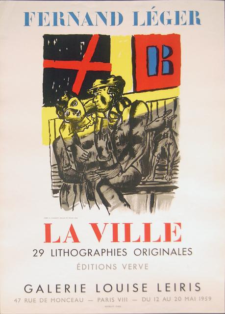 , 'La Ville,' 1959, GALLERY SHCHUKIN