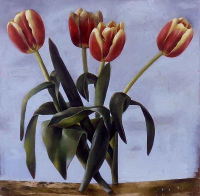 , 'untitled (Four Tulips),' 2001, Albert Merola Gallery