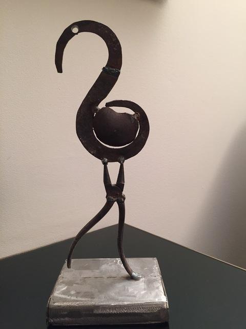 Hagop Hagopian, 'Flamingo', Sculpture, Found metals, Tufenkian Fine Arts