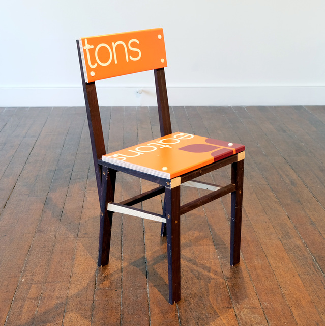 , 'For Sale Chair (tons),' 2018, Charlie Smith London