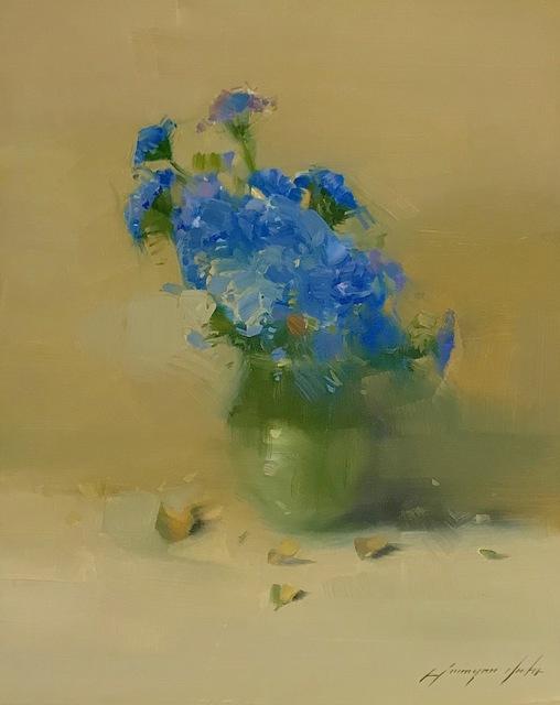 Vahe Yeremyan, 'Blue Flowers', 2019, Vayer Art