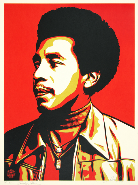 Shepard Fairey, 'Smokey Robinson', 2009, Heather James Gallery Auction