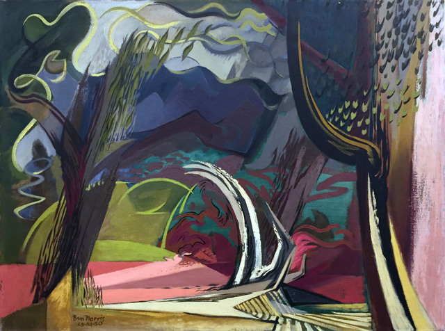 , 'Landscape Variations No. 2 - Sardonic Interlude,' 1950, Childs Gallery