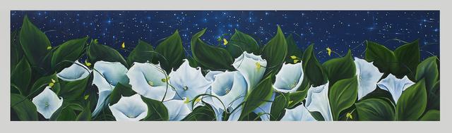 , 'Moon Flowers,' 2018, Susan Eley Fine Art