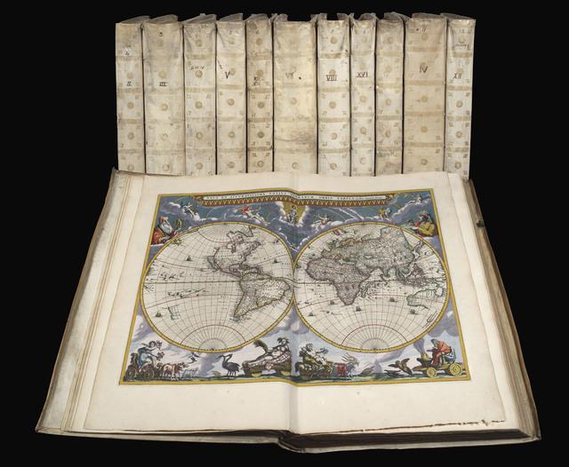 , 'Le Grand Atlas, ou Cosmographie blaviane, en laquelle est exactement descritte la terre, la mer, et le ciel.,' 1663, Daniel Crouch Rare Books