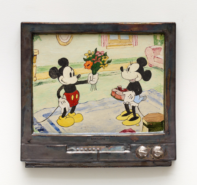 , 'Mickey Mouse Flowers,' 2016, Diane Rosenstein