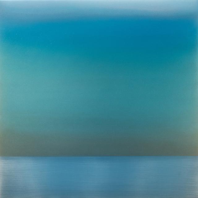 , 'Kasumi December Green Blue,' 2017, Sundaram Tagore Gallery