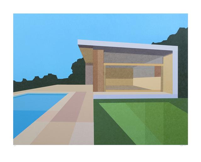 , 'Pool House,' 2016, Cynthia Corbett Gallery