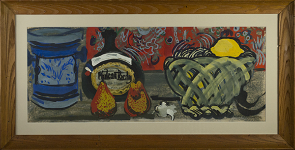 , 'Still Life with Basket,' c. 1960, David Barnett Gallery