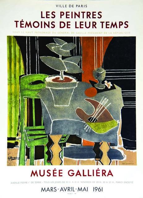 Georges Braque, 'Les Peintres Temoins De Leur Temps', 1961, Hidden