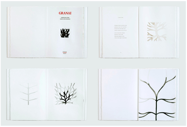 , 'GRANAI, Eleven ink drawings by CHRISTIANE LÖHR, Ten unpublished poems by MARIA LUISA SPAZIANI,' 1999, Jason McCoy Gallery