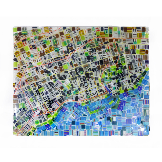, 'Map of Toronto,' 2017, Petroff Gallery